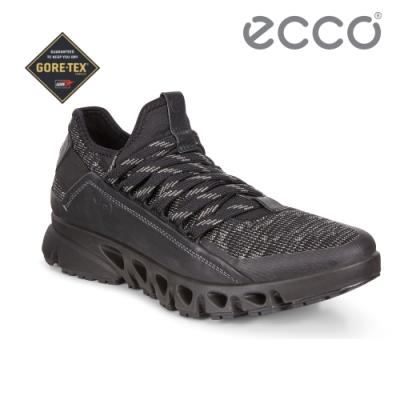 ECCO MULTI-VENT 全方位城市戶外運動休閒鞋 女-黑
