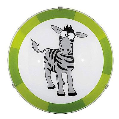 EGLO歐風燈飾 童趣風動物造型圓盤壁燈(不含燈泡)