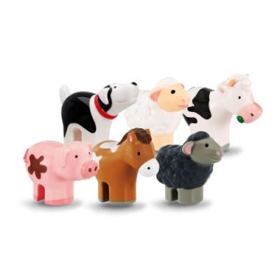 【WOW Toys 驚奇玩具】小玩偶 - 農場動物好朋友