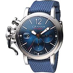 GRAHAM格林漢Grand Vintage計時腕錶-2CVDS.U09A.K136S
