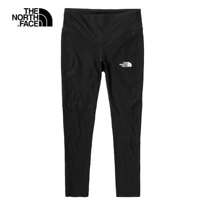 The North Face北面女款黑色吸濕排汗休閒緊身褲|5391JK3