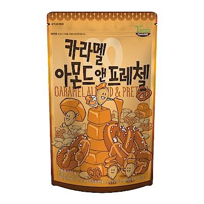 韓國Toms Gilim 焦糖杏仁果與蝴蝶餅(210g)
