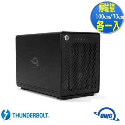 OWC ThunderBay 4 高速 TB3 四槽 2.5 / 3.5 吋 硬碟 外接盒