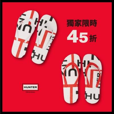[時時樂] HUNTER - 女鞋 - HUNTER夾腳拖 - 二色