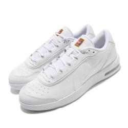 Nike 休閒鞋 Air Max Vapor Wing 男鞋 基本款 皮革 簡約 球鞋 穿搭 氣墊 反光 白 CT3890100