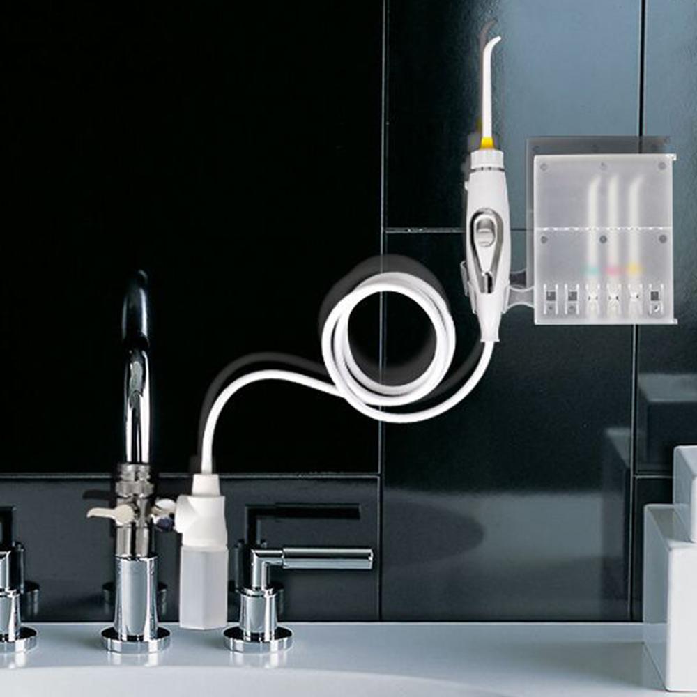 家適帝 牙齒保健全銅高壓沖牙機 (贈壁掛噴頭收納盒)