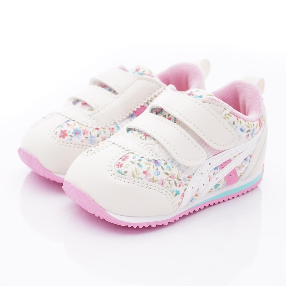 亞瑟士SUKU2機能鞋 護踝學步鞋 167-700白粉(小童段)