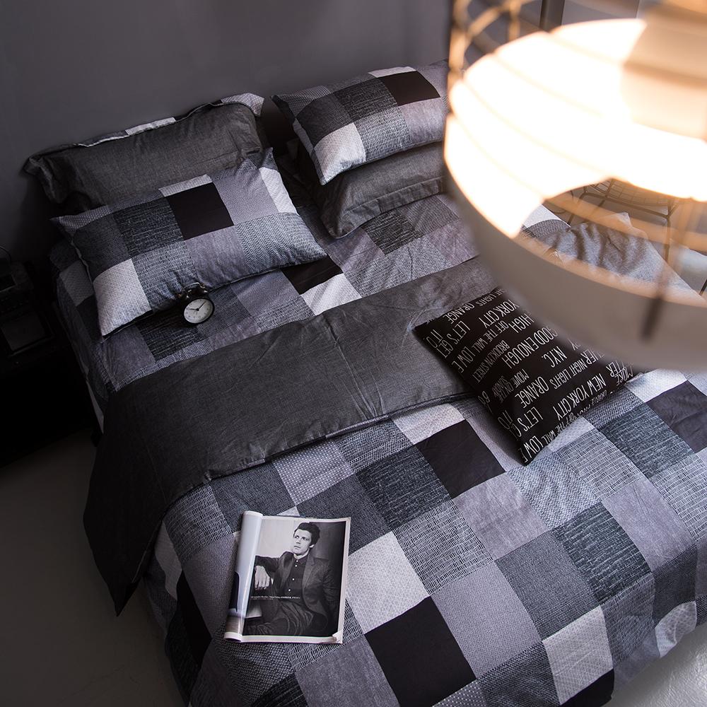OLIVIA   克里斯   特大雙人兩用被套床包四件組