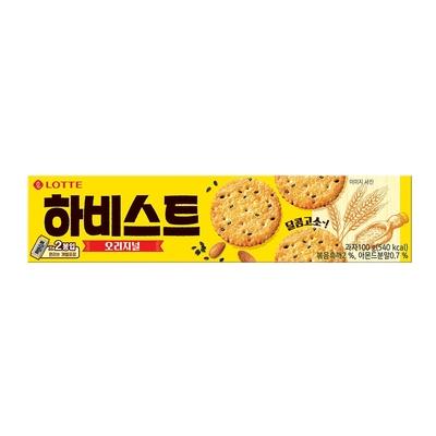 Lotte樂天 芝麻餅乾(100g)