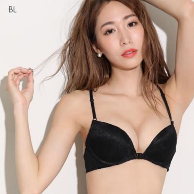 aimerfeel 天使之翼露背內衣-黑色-599013-BL