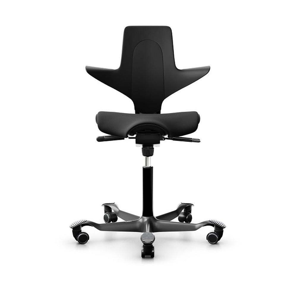 【挪威HAG】 Capisco Puls 8020人體工學椅-黑