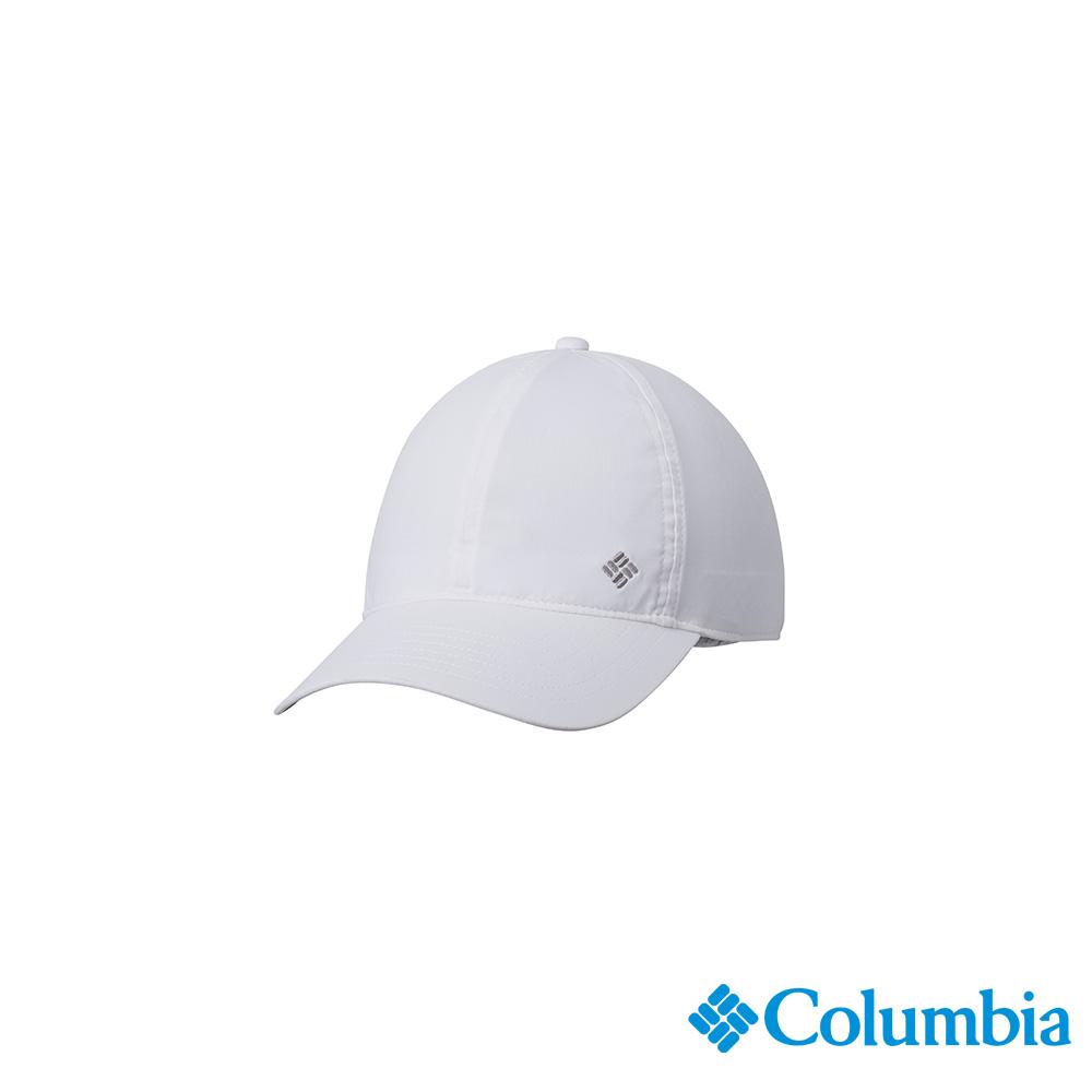 Columbia 哥倫比亞中性-UPF50涼感快排棒球帽-白色UCU01260WT