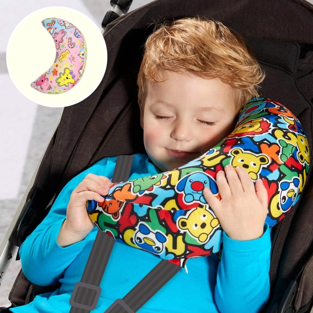 WHY AND 1/2 安全帶肩頸枕-月亮枕 多色可選