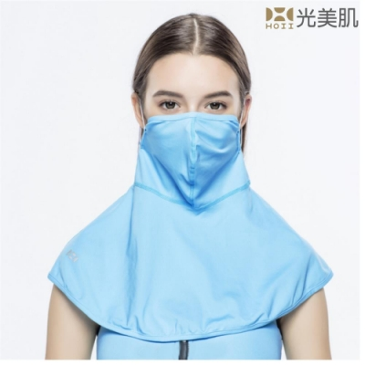 HOII光美肌-后益先進光學布-機能美膚光蒙面俠口罩面罩(藍光)
