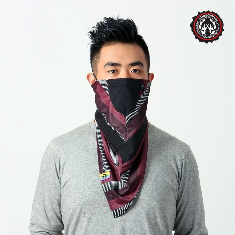 【DREGEN】TS系列-三角巾面罩-勞勃紳士