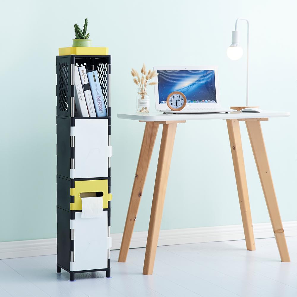 lemonsolo日式多功能儲物收納架-D款 北歐風置物架 夾縫收納架