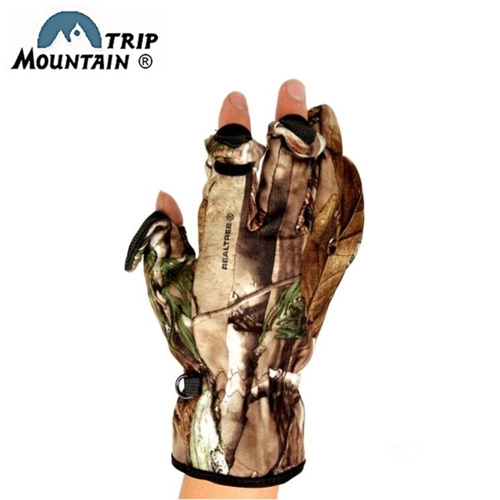 山行Mountain Trip迷彩露指手套攝影手套MG-802