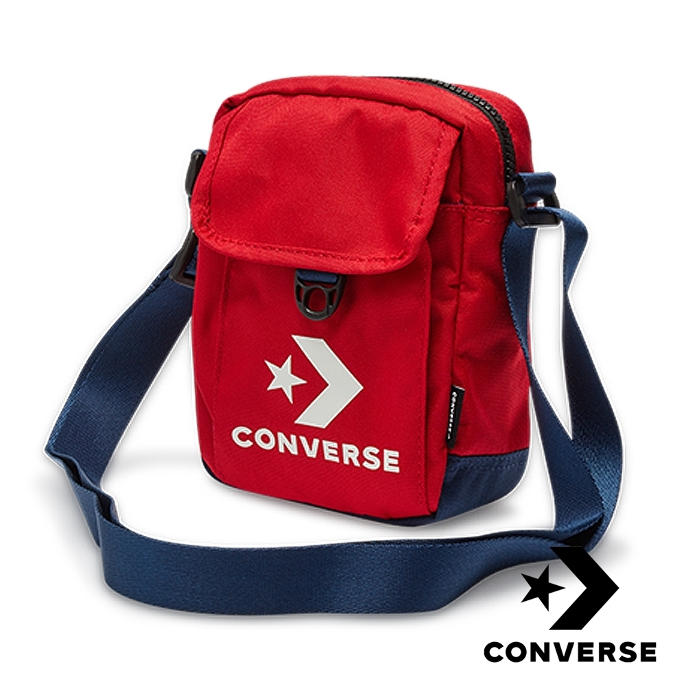 CONVERSE 經典側背包 紅 10008299-A02