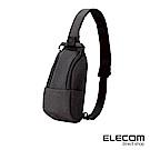 ELECOM 帆布兩用輕便斜背包-黑