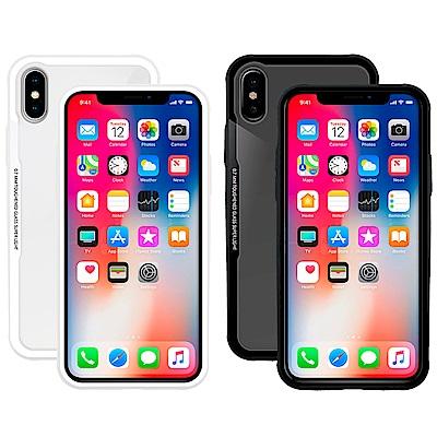 Metal-Slim 2018 Apple iPhone 5.8吋 強化鋼化玻璃保護殼