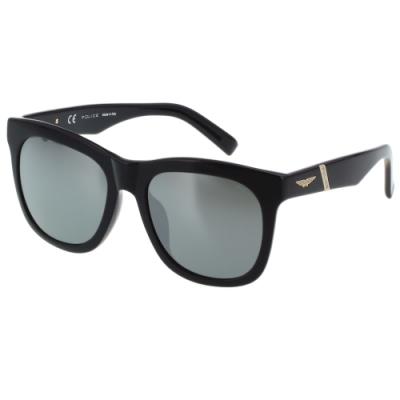 POLICE 水銀面 太陽眼鏡 (黑色)SPL205G