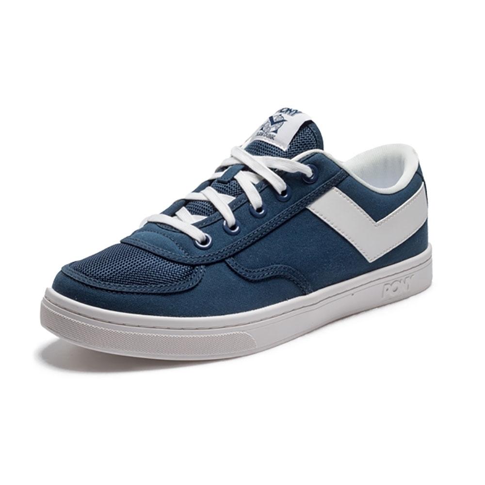 【PONY】Slam Dunk 個性風格滑板鞋款-男-藍色
