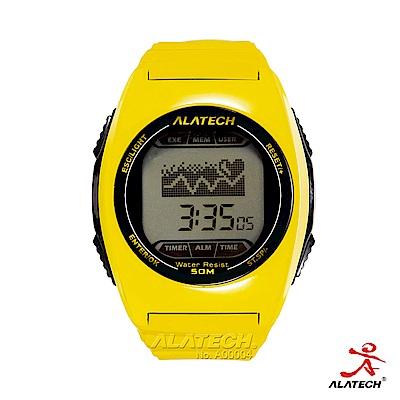 ALATECH FB005 專業健身 心率錶 –黃色