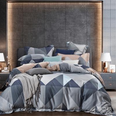 夢之語 3M頂級天絲床包枕套三件組(菲妮克絲)加大
