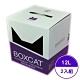 貓家BOXCAT-威力奈米銀除臭小球砂 (紫標) 12L (2入組) product thumbnail 1