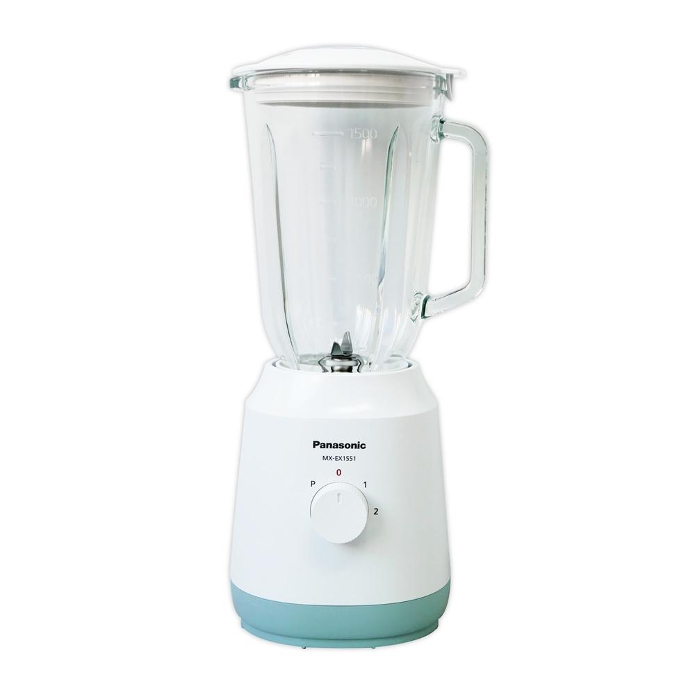 Panasonic國際牌1.5公升不鏽鋼刀果汁機 MX-EX1551(白色)