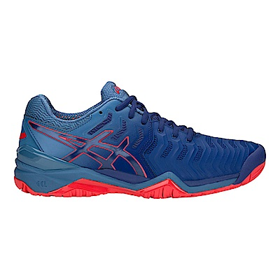 ASICS GEL-RESOLUTION 7 男網球鞋E701Y-400