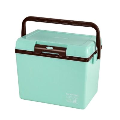 日本鹿牌冰桶14L綠色 UE-72