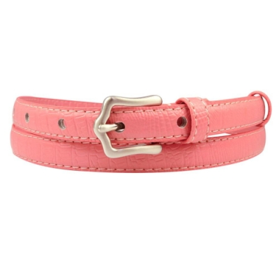 CH-BELT粉紅佳人超細版女生皮帶腰帶