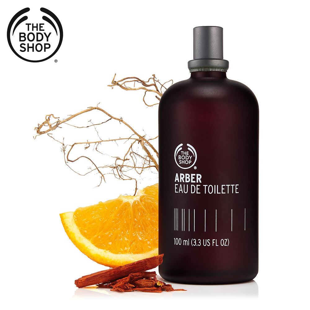 The Body Shop ARBER亞柏噴式香水-100ML