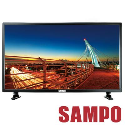 福利品 SAMPO聲寶 24吋 LED液晶顯示器+視訊盒 EM-24AK20D