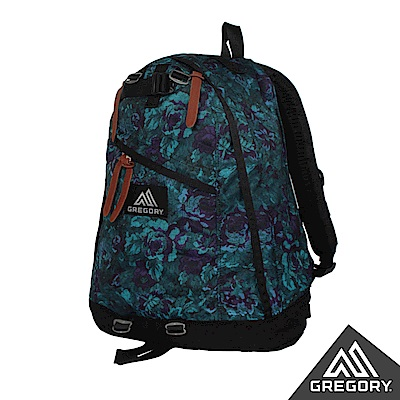 Gregory 26L Day Pack 日系後背包 電腦包 迷幻藍花
