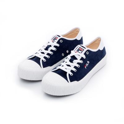 FILA BISCUITC中性休閒鞋-深藍 4-C910T-311