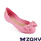 Zaxy 巴西 童 蝴蝶飛舞休閒鞋 粉紅