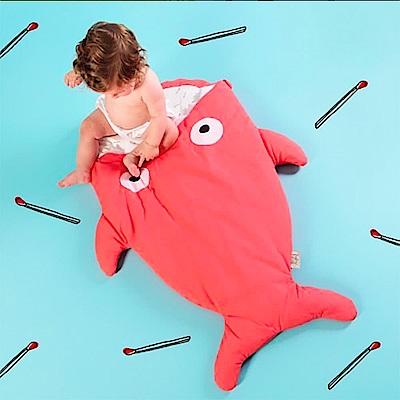 【嬰幼兒標準版-紅珊瑚】BabyBites西班牙鯊魚咬一口睡袋