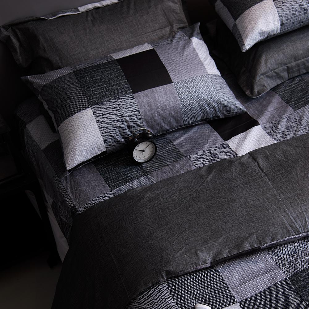 OLIVIA  克里斯  加大雙人床包枕套三件組
