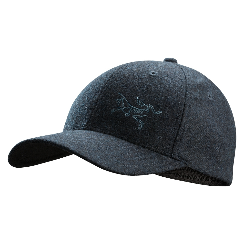 Arcteryx 始祖鳥 羊毛棒球帽 雜藍