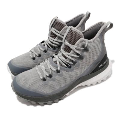 Merrell 戶外鞋 Bravada Waterproof 女鞋 防水 抗磨損 防撕裂 包覆 避震 穩定 灰 白 ML036018