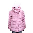 MARELLA 立領設計粉紅色絎縫羽絨外套