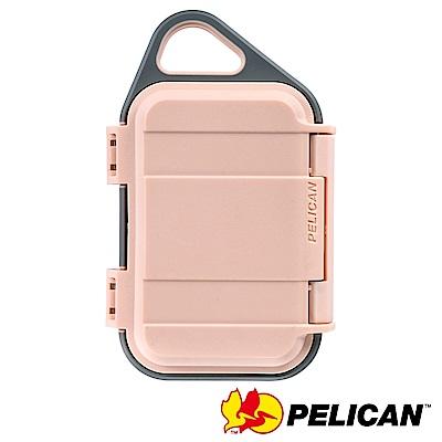 美國 PELICAN G10 GOCASE 微型防水氣密箱-(粉灰)