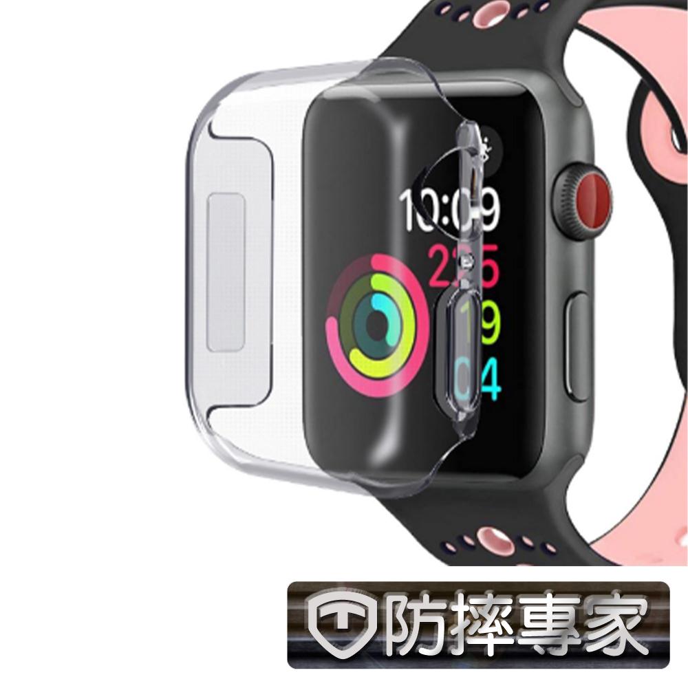 防摔專家 Apple Watch 完美包覆 輕薄透明保護殼