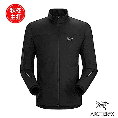 Arcteryx 始祖鳥 男 Argus 化纖保暖外套 黑