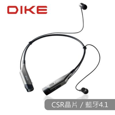 福利品 DIKE 頸掛式運動藍牙耳機麥克風-黑 DEB400