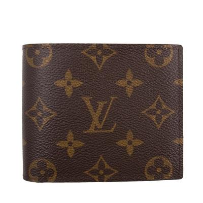 LV 老花 男款短夾 零錢袋款 MARCO Monogram  M62288
