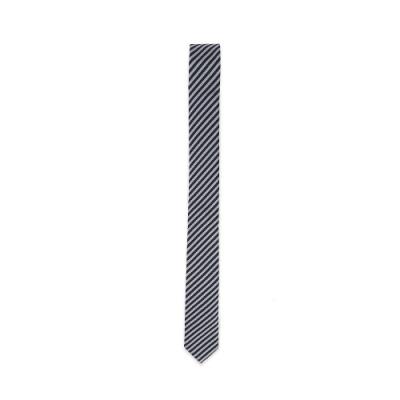 agnes b. 窄版斜紋領帶