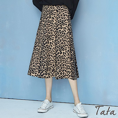 花豹紋裙 TATA